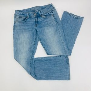 American Eagle Womens Jeans 8 Blue Kick Boot